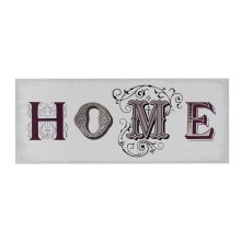 """Home"" Wall Plaque"