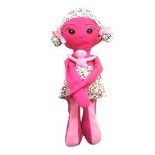 Simply Good Raggedy Doll Pink