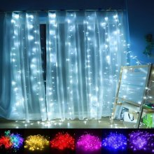 1M*4M 144LED Fairy String Curtain Light