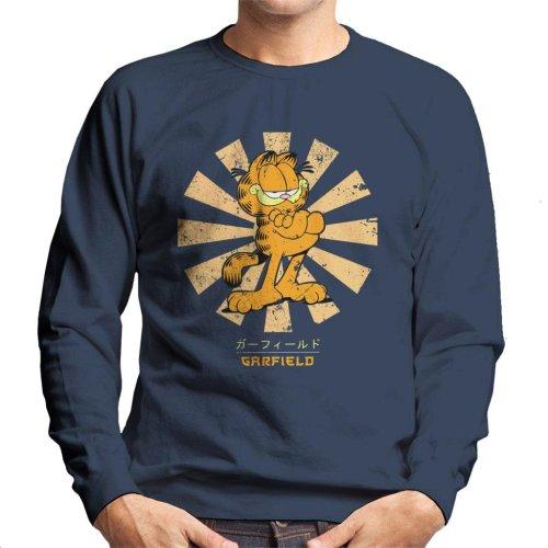 Garfield Retro Japanese Men's Sweatshirt
