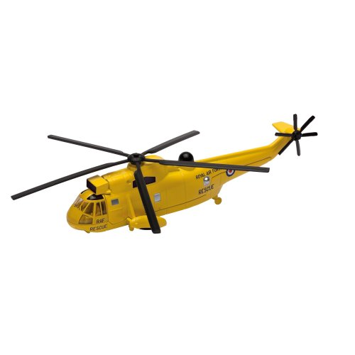 Corgi CS90625 Showcase Westland Sea King Search and Rescue Model - yellow