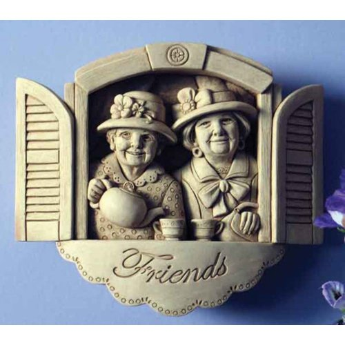 Dear Friends Plaque Ornament by Carruth