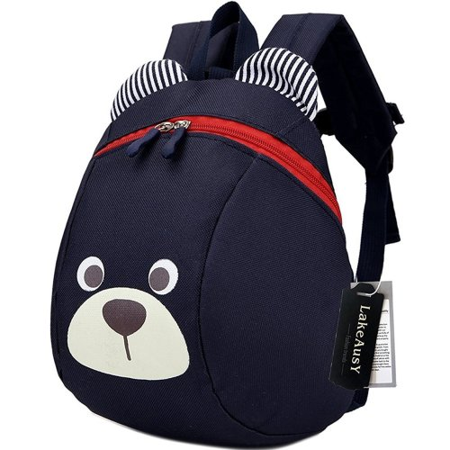 Children Kids Toddler Backpack Book Bags Rucksack Harness With Leash Reins for Boys Under 3 Years