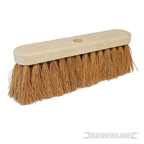 "Silverline Broom Soft Coco 304mm (12"") - 12 282555 -  broom soft silverline coco 304mm 12 282555"