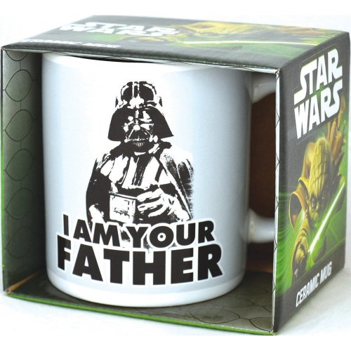 Half Moon Bay MUGBSW16 Star Wars - I Am Your Father Mug White 350ml