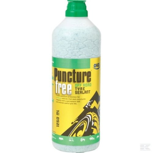 OKO Puncture-Free Off-Road Tyre Sealant - 1250ml Bottle