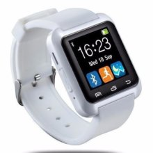 Bluetooth Smart Watch With Touchscreen white for Android and iOS