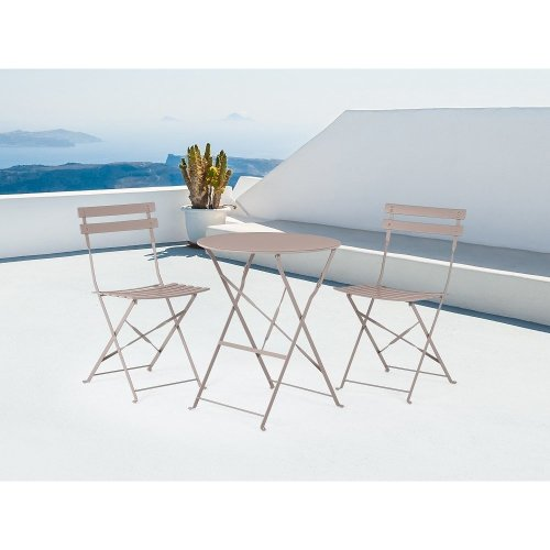 Outdoor Bistro Set - Folding Table and 2 Chairs -  - FIORI