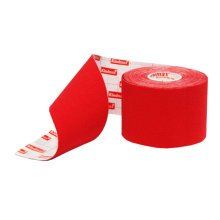 Cotton Cloth Therapy Muscle Kinesiology Athletic Tape Red (5 x 500cm)