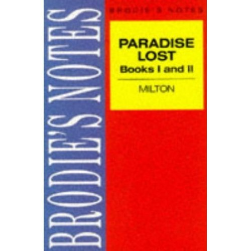 Milton: Paradise Lost (Brodie&quote;s Notes)