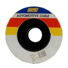 50m Single Black Cable 1x 2.0mm? 17amp - 1 Maypole Core x 3224b Automotive -  black cable 1 maypole 50m core x 3224b single automotive 2803mm