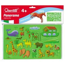 Quercetti Pack Of 4 Panorama Stencils -  stencils panorama movie