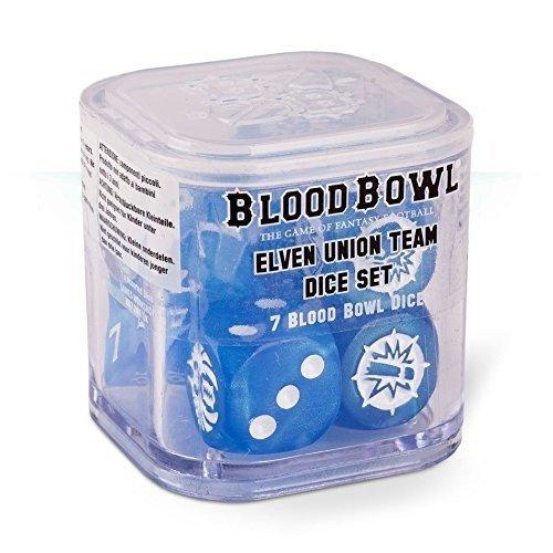 Games Workshop - Blood Bowl: Elven Union Dice Set