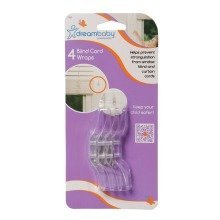 Dreambaby Blind Cord Wraps 4 Pack
