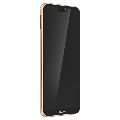 LCD replacement part with touchscreen + 2900mAh battery Huawei P20 Lite - Pink