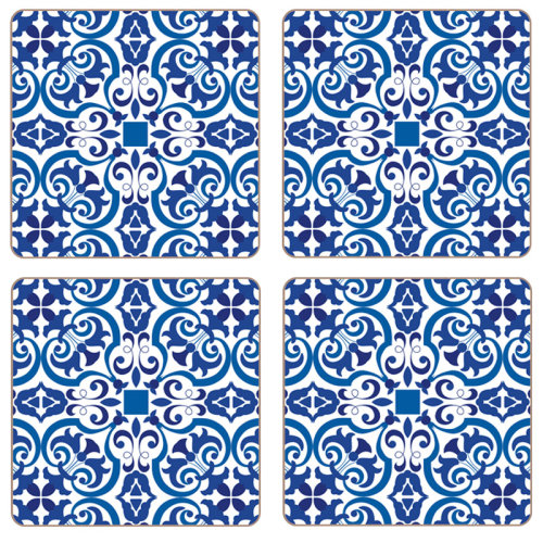 iStyle Moroccan Tiles Coasters Set of 4