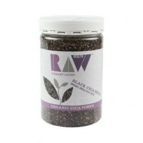 Raw Health - Organic Black Chia Seeds 450 g