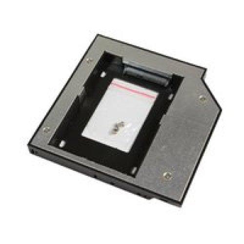 MicroStorage KIT336 2.5  Black, Metallic storage drive enclosure