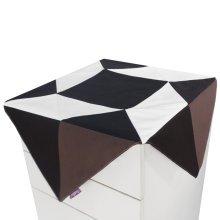 Fashion Canvas Refrigerator Dust Cover Tablecloth Dustproof Cloth
