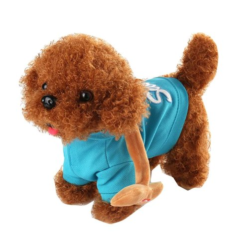 Plush Singing Dog Toy Home Decor Gift