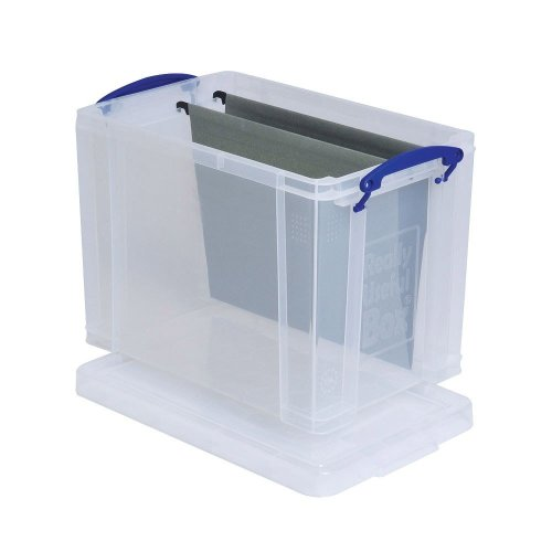 Really Useful Clear Plastic Storage Box 19 Litre