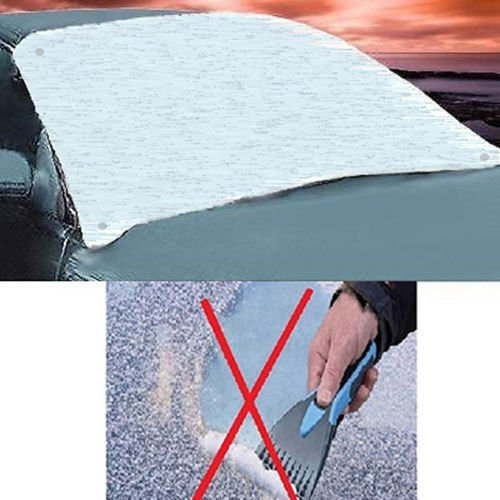 Car Windscreen Suction Cover Frost Ice Shield Snow Dust Protector Windshield