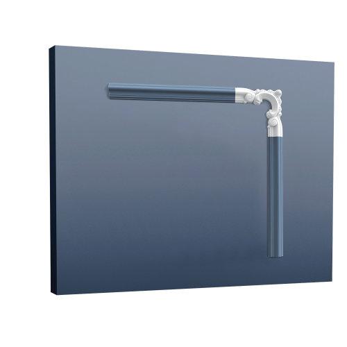 Orac Decor P8030D LUXXUS Corner Element for Moulding Cornice Stucco Decoration