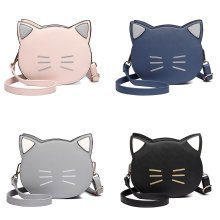 Miss Lulu Women Cat Shoulder Bag Cross Body Bags for Girls Small Messenger Satchel