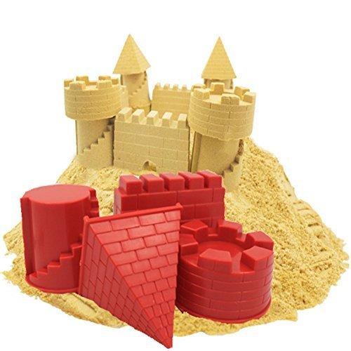 Minibaby Set Of 4Pcs Smart Sand Castle Mold Tools Kit