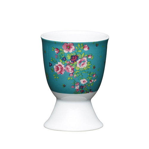 Kitchen Craft - Porcelain Egg Cup - Floral Rose