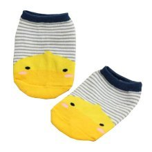 2 Pairs [Duck] Infant Toddler Socks Cotton Socks for Baby Child Kid, 0-2 Years