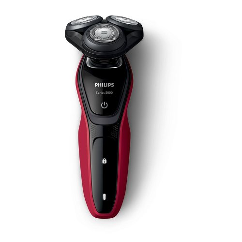 Philips Series 5000 Wet and Dry Men's Electric Shaver with Turbo Plus Mode (UK 2-Pin Bathroom Plug) - S5240/06