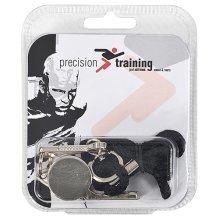 Metal Referee's Whistle & Lanyard - Precision Training -  precision training metal whistle lanyard