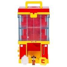 Disney Crossy Roads Mini Figure Playset Dispensing Gumball Machine