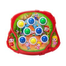 Playing HItting Hamster Inspire Kids Brain and Hands Development, 22.5*19*5cm/1