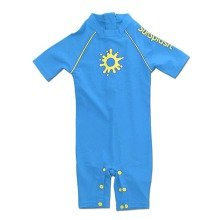 Sunsplash Baby Uv Boys Sun Suit Blue (2-3 Years)