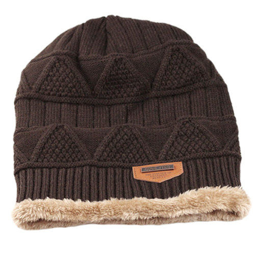 5888cf70225ac Stylish Warm Beanie Hat Skully Hat Ski Knit Cap Knit Winter Hats Coffee on  OnBuy