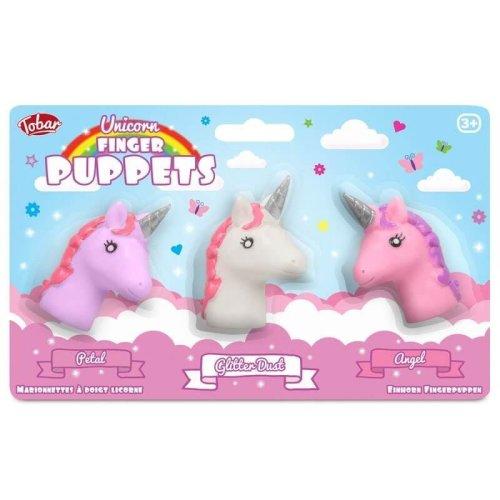 Unicorn Finger Puppet Set