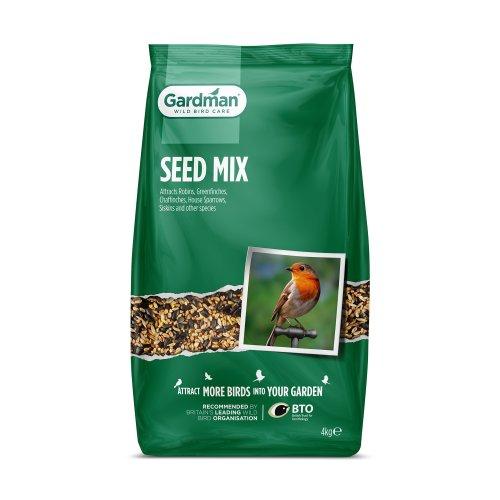 Gardman Seed Mix for Wild Birds - 4kg