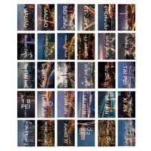 30PCS 1 Set Creative Postcards Artistic Beautiful Postcards, City Image