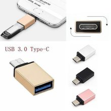 USB 3.1 Type-C Male to USB 3.0 A Female Data Converter ADAPTER USB-C OTG 5 COLOR