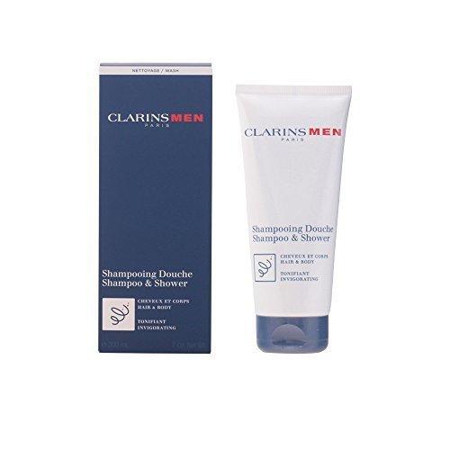 Clarins Men Total Shampoo (Hair & Body), 7-Ounce Box