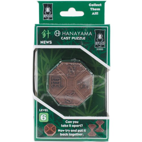 Hanayama Cast Puzzles-News Level 6