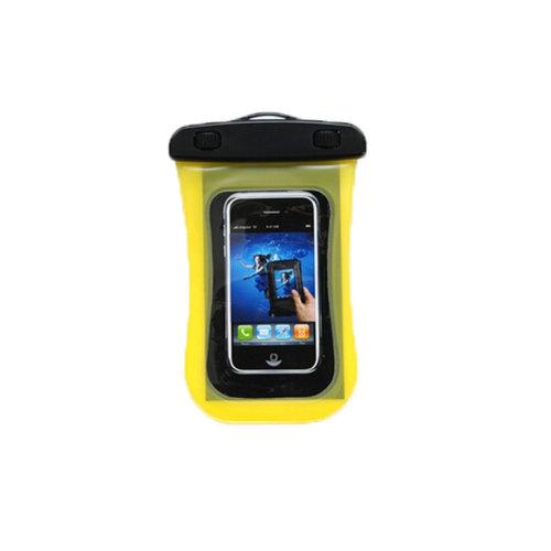 Waterproof Camera Bag Underwater Swimming Diving Cellphone Bag, Yellow
