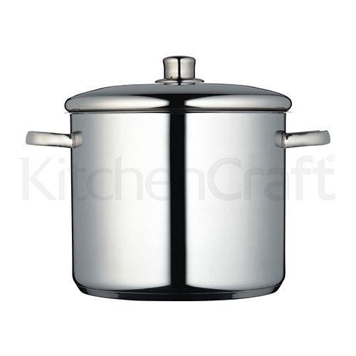 Kitchen Craft Master Class Stainless Steel Stockpot, 11 L