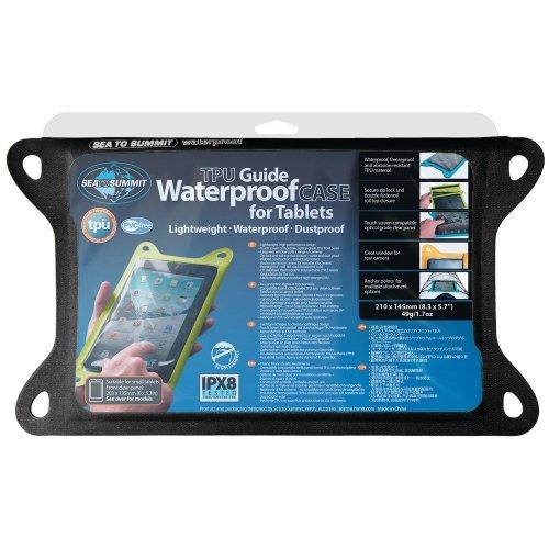 Sea to Summit TPU Guide Waterproof Case For Medium Tablets (Black)