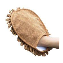 High Quality Microfiber Car Wash Mitts Scratch Free Wash Mitts Set of 2