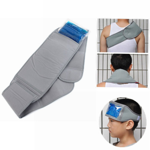 Cooling Heat Belt Bandage Ice Pack Insert Pain Relief Protecting Arm Neck Knee Protector