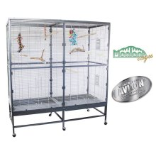 Spacious Indoor Aviary Home for Budgies Cockatiels and Parakeets