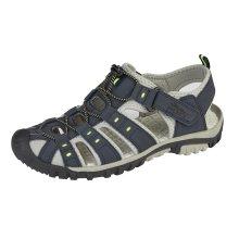 Pdq Mens Walking Sandal Blue